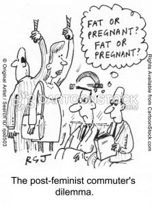 Fat or Pregnant