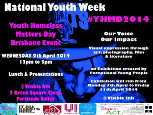 Youth Homeless day
