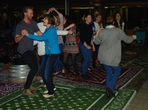 ...people danced